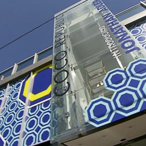 Coco Republic x Jonathan Adler - Store Facade - Outdoor Advertising Sydney