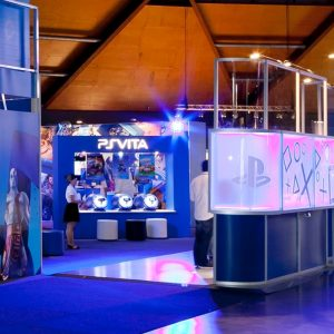 Sony PlayStation - Trade Stands - Outdoor Advertising Sydney